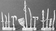 Weapons Pack 4 Reaper Miniatures Dark Heaven Legends Conversion Terrain Loot