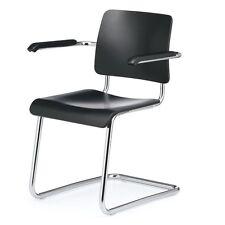 """""""Weimar"""" Freischwinger Stahlrohr Stuhl Bauhaus Art Deco Stil L&C Stendal NEU/OVP"""
