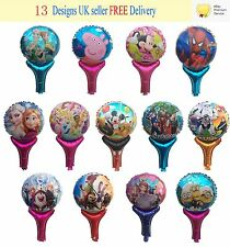 New Children Hand Balloons Frozen Peppa Pig Paw Patrol Minions Party Bag Fillers