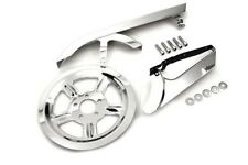 Chrome Belt Guard Pulley Cover Kit for Harley Sportster XL 883 1200 04-17