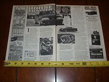 1993 SALEEN SUPERCHARGED CONVERTIBLE - ORIGINAL ARTICLE