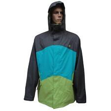 DC AMO 11 Mens XL Grey Green Snow Board Ski Waterproof Winter Mountain Jacket