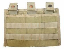 Eagle Allied Industries SFLCS Khaki Triple M4 MOLLE Mag Shingle 1x3 Pouch MLCS