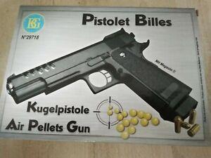1x     Kugelpistole ( Plastikkugeln) 0,08Joule NEU   Pistole  ca.23 cm