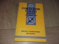 que sais-je? N°351 ENTRE LA GUERRE ET LA PAIX (1945-1949) / ROGER CERE