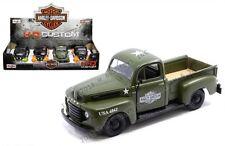 Maisto 1/24 Harley-Davidson Custom 1948 F-1 Pickup Truck Diecast Car 34171A