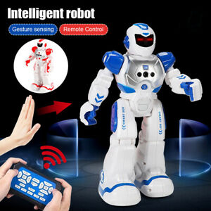 New Intelligent Robot RC Remote Control Smart Action Music Kids Toy Gift