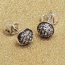 NEW! AUTHENTIC PANDORA SILVER EARRINGS! DAZZLING DROPLET #290726CZ