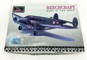 Beechcraft Model 18 Die Cast Metal Body Model Kit
