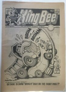 King Bee Tabloid Comic Apex Novelties 1969