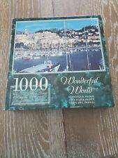 COTE D AZUR, FRANCE; Wonderful World, 1000 PC JIGSAW PUZZLE