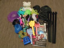 Monster High Doll Accessories Bulk Lot * Bundle assorted items * Stands Clothing