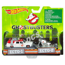 5 CASE (40PCS) HOT WHEELS 1:64 GHOSTBUSTERS Ecto 1 CADILLAC  Ecto 2 MOTORCYCLES