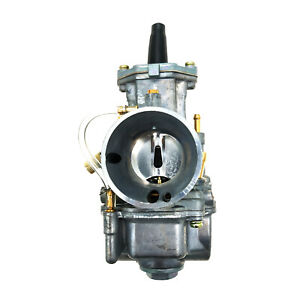 28mm Flat Side Racing Carburettor Performance Tuning Universal Motorcycle