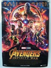 Marvel Avengers Infinity War Kino Filmposter A1 Original gerollt NEU Ironman uvm