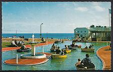 Norfolk Postcard - The Boating Lake, West Parade, Cromer   V2098