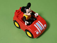 Lego Duplo Mickey Mouse [from set 10827] & Red Car [from set 10835]
