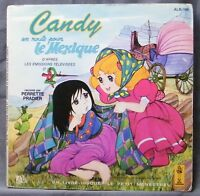 ♪♪ 45 T VINYL - 2 - CANDY ON THE ROAD POUR LE MEXICO - BOOK DISK ♪♪