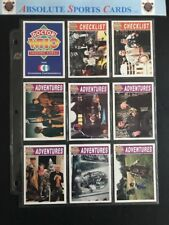 1994 Cornerstone Communications Doctor Who 110 Card Set Plus 3 Foil Chase Cards