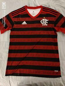 Adidas Flamengo Soccer Jersey CRF Scarlet Size Medium NWT Brazil
