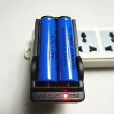 Battery 3.7V Charger Universal For 18650 US Plug Rechargeable Li-ion Dual 2019 R