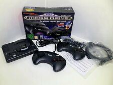 SEGA MEGA DRIVE Mini Konsole mit 2 Controller, 40 Spiele + 2 Bonus Titel +++NEU!