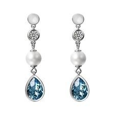 2pcs Womens Drop Earrings Made with Swarovski Elements Crystals Studs Earrings