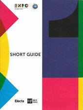 EXPO MILANO 2015 - MILAN WORLD'S FAIR - OFFICIAL GUIDE BOOK & OFFICIAL MAP