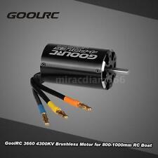 GoolRC 3660 4300KV 4 Poles Brushless Sensorless Motor fr 800-1000mm RC Boat O2L8