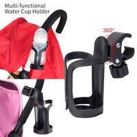 Baby Stroller Pram Cup Holder Universal Bottle Drink Water Coffee Bike Bag 360°