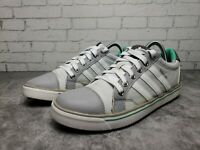 WOMEN'S ADIDAS ADICROSS IV GOLF SHOES CLEAR GREY/GREEN Q47026 Sz 6.5