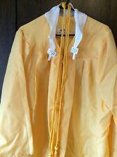 """Jostens Golden Yellow Graduation Gown Choir Halloween 5'7""""-5'9&# 034;"""