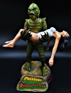 CREATURE BLACK Lagoon Resin Professionally AIRBRUSHED PAINTED built AURORA style