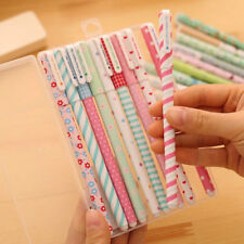 New Fashion 4Pcs Color Gel Pens Kawaii Pen Boligrafos Korean Stationery Gifts