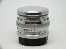 New Jupiter 3+ Art Lens f1.5/50mm L39/M Lomography Zenit with L39-LM adapter