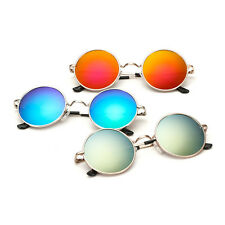 Stylish Kids Boys Girls Children Retro Round UV400 Sunglasses Goggles  Fashion 411f28023862