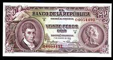 Colombia … P-401a … 20 Pesos … 1953 ... *UNC*.