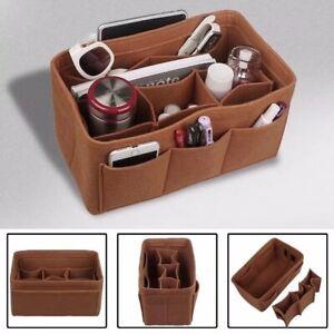 Damentasche Kosmetiktasche Filz Innentasche Reisetasche Insert Tasche Organizer