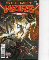 SECRET WARS #1 MARVEL COMICS 2015 HICKMAN BAGGED AND BOARDED