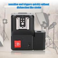 W&S PT-04NE Hot Shoe Mount Flash Trigger Transmitter Receiver Sync Cord Set LJ