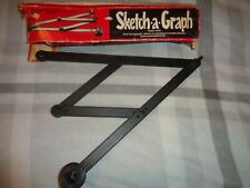 Vintage Sketch A Graph Drawing Instrument W/Original Box-Made In Finland