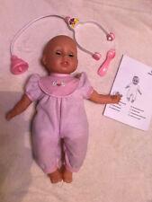 TOP! Kranke Baby Puppe: Mein Baby wird wieder gesund!,Arzt-Zubehör,bewegl. Augen