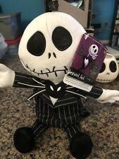 Disney Jack Skellington and Oogie Nightmare Before Christmas Animated Dolls NWT