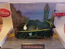 MIB Disney Pixar Cars 2 LEWIS HAMILTON Diecast with Collector's Case