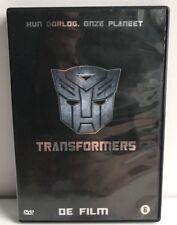 """Transformers """" de film """" dvd Dutch NL Subtitles alternate Cover 2007"""