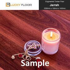 14mm Jarrah Sample Engineered Hardwood Timber Flooring Floating Floor Floorboard