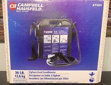 Campbell Hausfeld Siphon-Feed Sandblaster 30 lb. Capacity - Fast Free Shipping