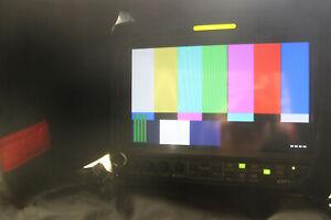 JVC DT-V9L1DU HD field monitor with porta brace case