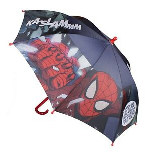Disney Marvel Spiderman Regenschirm Kinder Schirm Sonnenschirm Neu