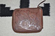 Ralph Lauren RRL Embossed Vintage Leather Zipper Wallet